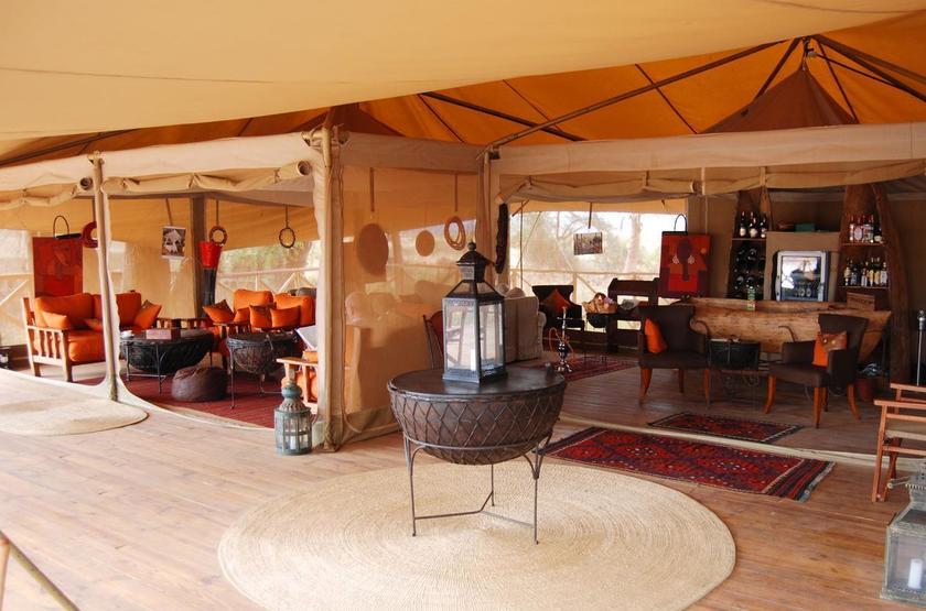 Elephant Bedroom Camp, Samburu, Kenya, main camp