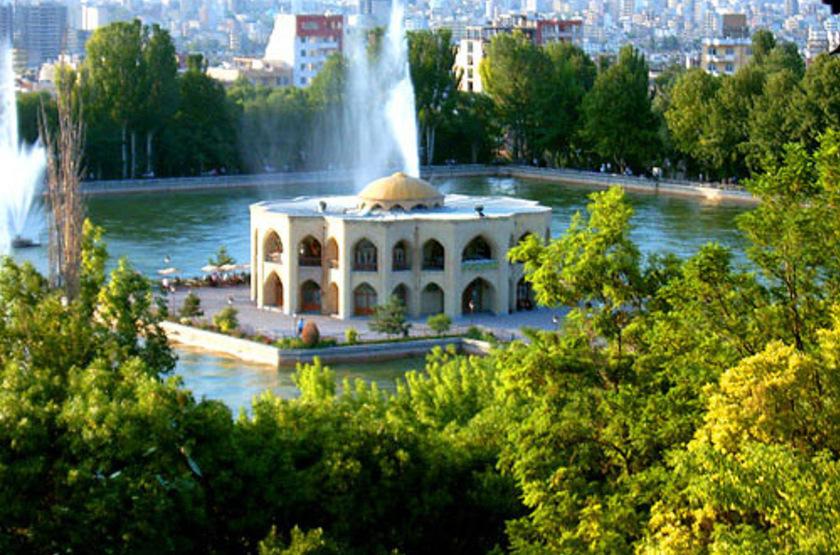 Tabriz El-Goli Pars Hotel, Trabiz, Iran, parc et lac El Goli