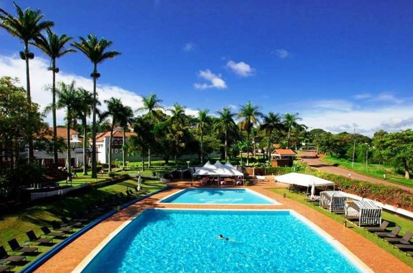 Lake Victoria Hotel, Entebbe, Ouganda, piscine