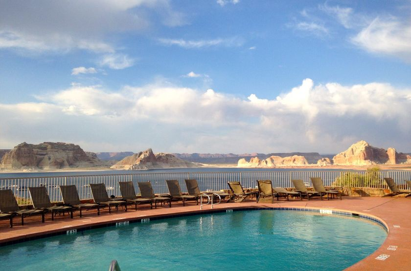 Lake Powell Resort - Lake Powell, Etats Unis, piscine