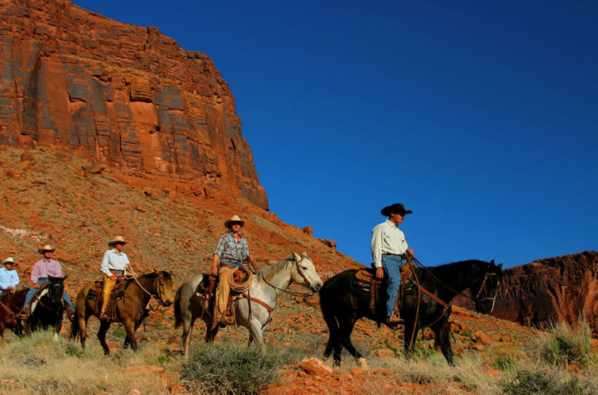 Red Cliff Adventure Lodge, Moab, Etats Unis, horseback