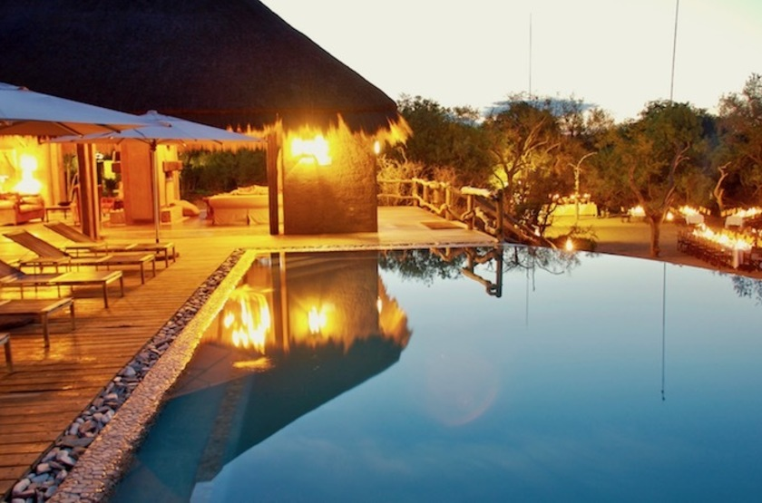 Kapama River Lodge, Afrique du Sud, piscine