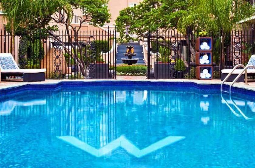 W Nouvelle Orléans, French Quarter, Etats Unis, piscine