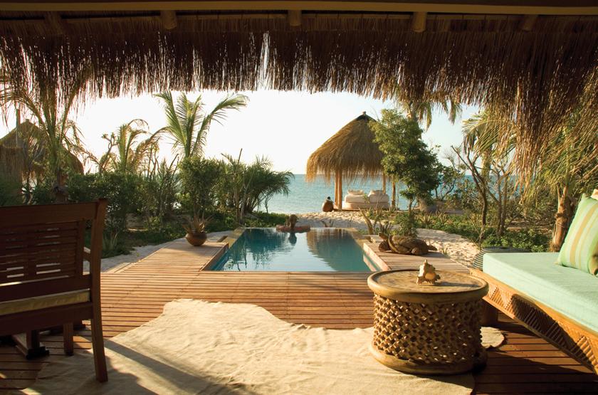Azura Benguerra Island, Vilancoulos, Mozambique, infinity villa