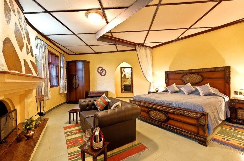 Amboseli Sopa Lodge, Amboseli, Kenya, suite