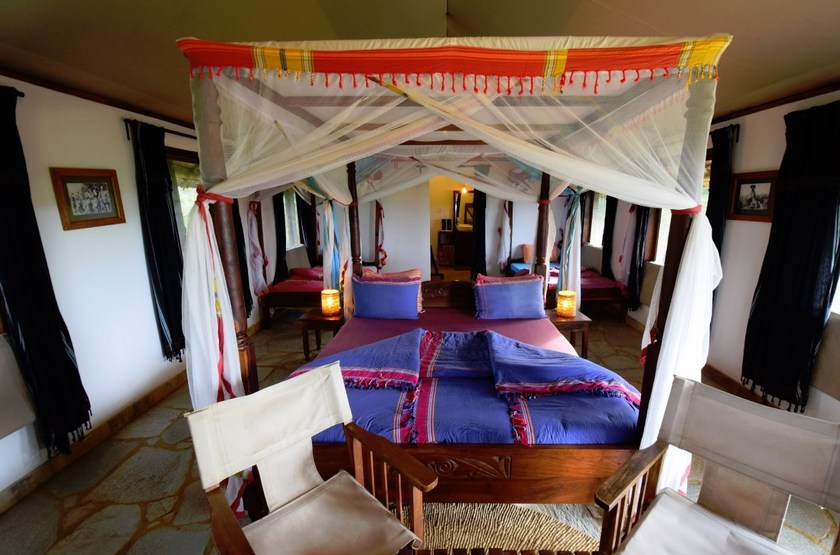 Oremiti Lodge, Manyara, Tanzanie, chambre familiale