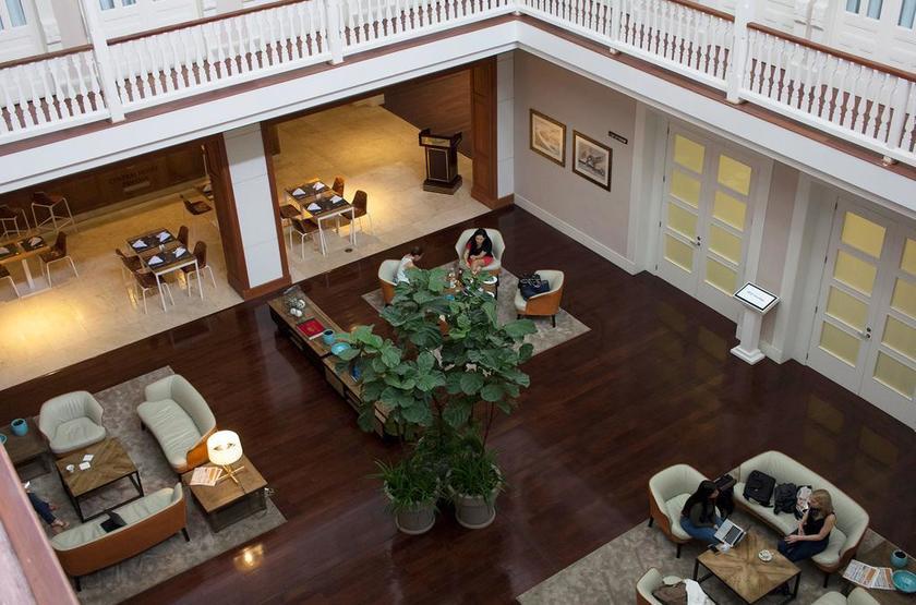 Panama - Hotel Central - Vue intérieure