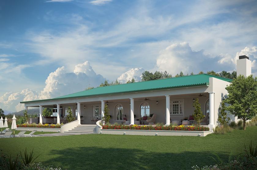 Batonka Guest Lodge, Victoria Falls, Zimbabwe, extérieur