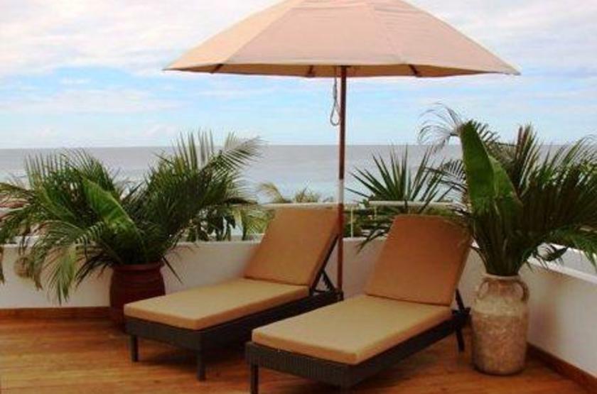 Honduras - Paradise Oceanic Hotel - Terrasse
