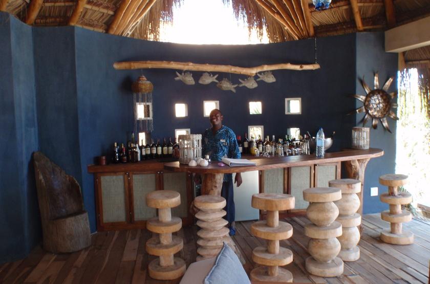 Azura Benguerra Island, Vilancoulos, Mozambique, bar