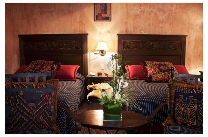 Guatemala - Meson de Maria - Chambre