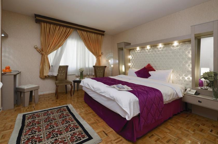 Ferdowsi International Grand Hotel, Téhéran, Iran, chambre