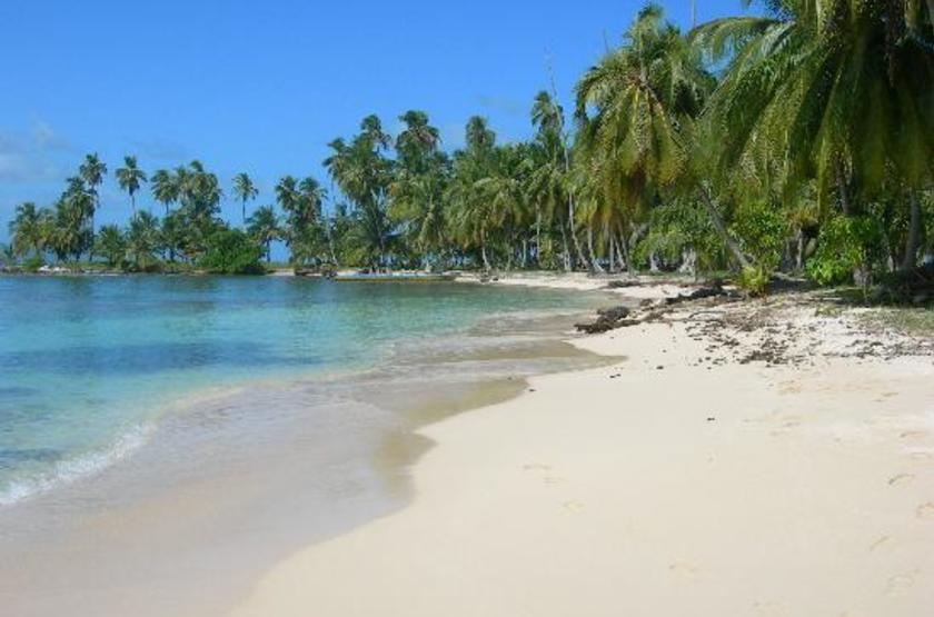 Yandup Island Lodge, Panama, plage