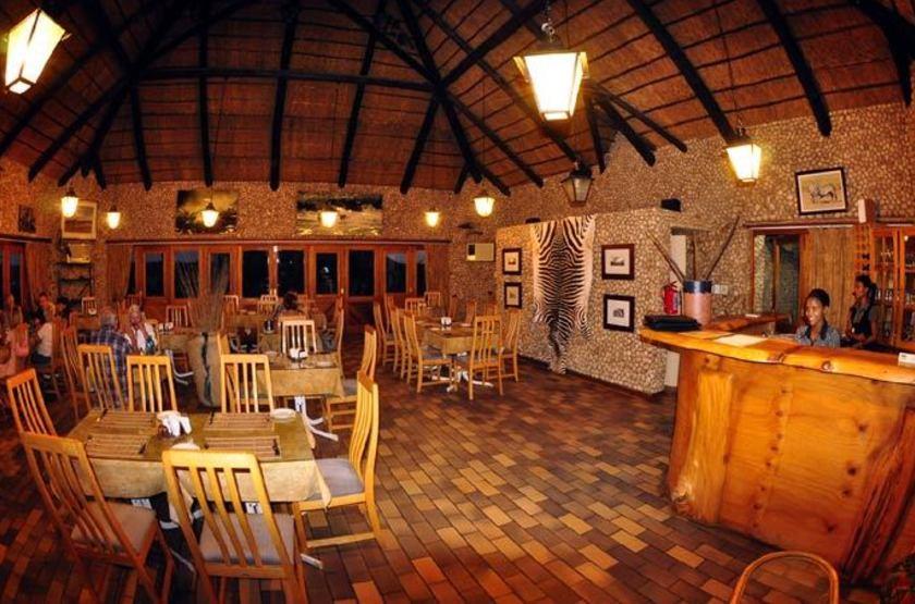 Twee Rivieren, Nossob, Kalahari Transfrontier Park, Afrique du Sud, restaurant