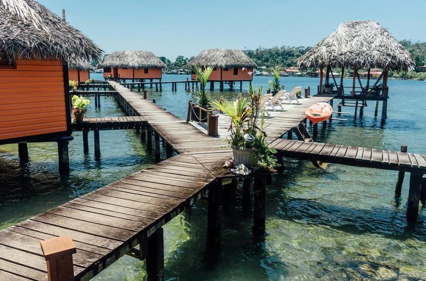 Panama - Eclypse de Mar - Vue extérieure Acqua Lodge
