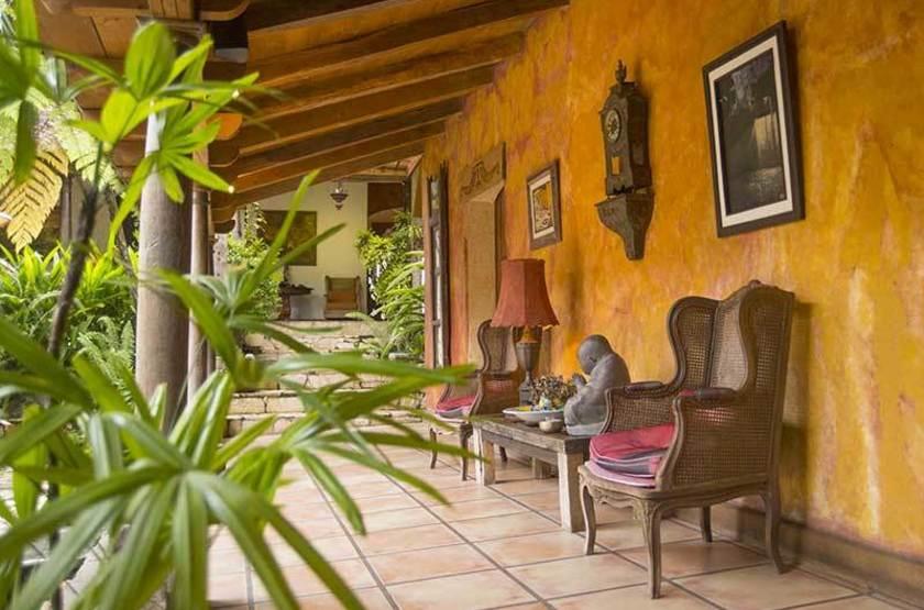 Los Almendros de San Lorenzo, Suchitoto, Salvador, intérieur