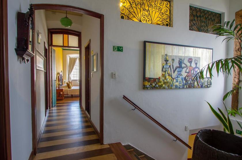 Brésil - Pousada Solar Dos Deuses - Chambre couloir