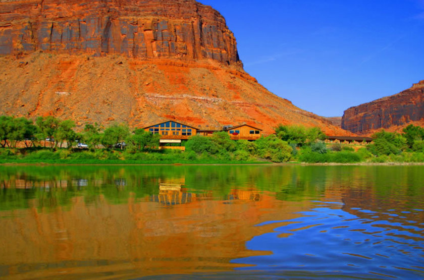 Red Cliff Adventure Lodge, Moab, Etats Unis, emplacement