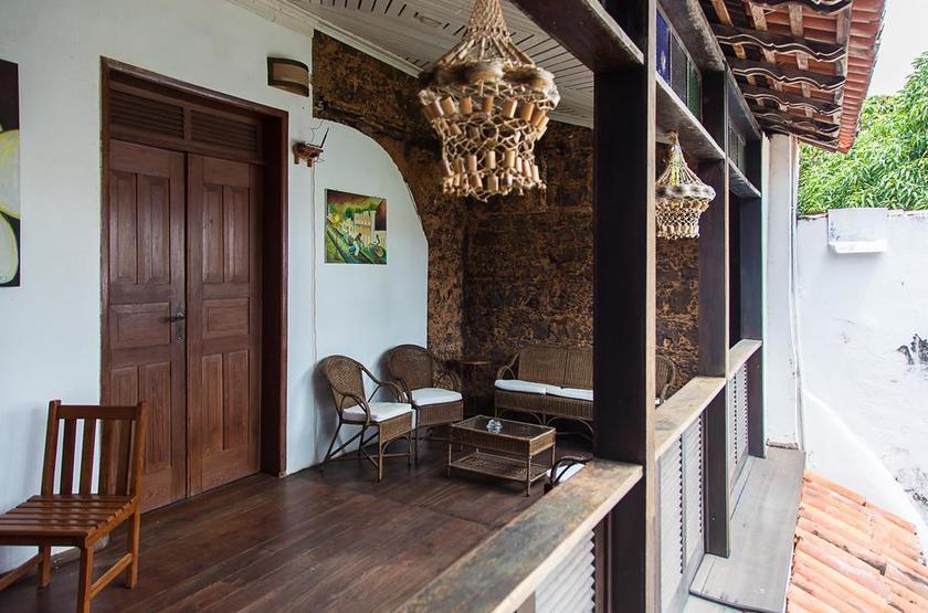 Brésil - Casa Lavinia - Patio terrasse