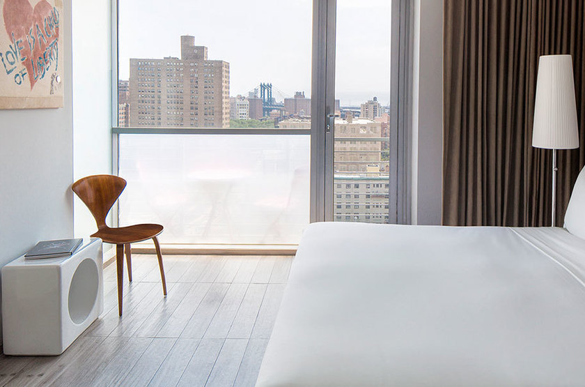 On Rivington New York, Etats Unis, chambre