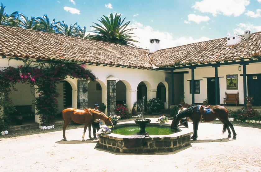 Hacienda Pinsaqui, Otavalo, Equateur, extérieur