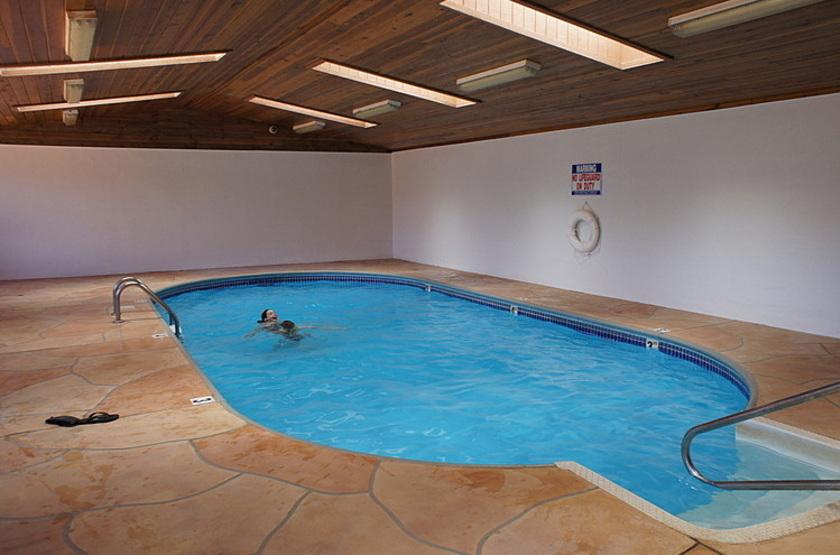 Goulding's Lodge, Monument Valley, Etats Unis, piscine intérieure