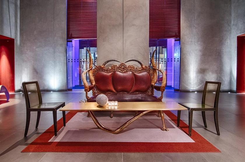 Clift, San Francisco, Etats Unis, lobby
