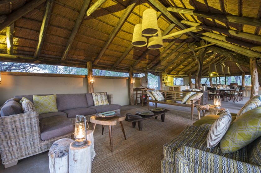 Gometi Tented Camp Exploration, Santawani concession, Botswana, main space