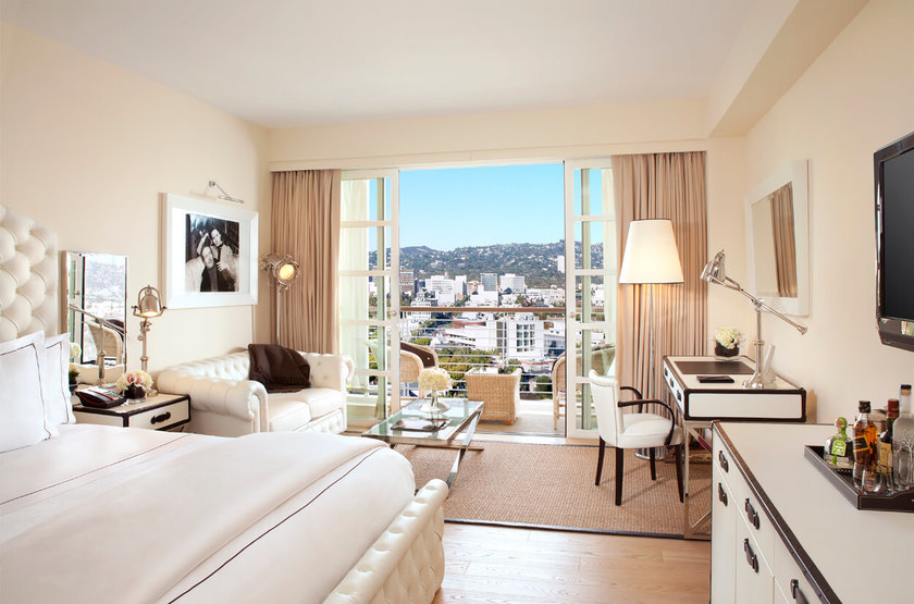 Mr C Beverly Hills, Los Angeles, Etats Unis, chambre
