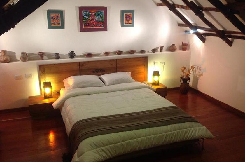 Bolivie - Casa de Piedra - Chambre