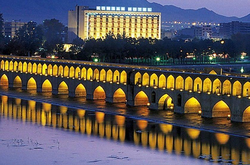 Kowsar Hotel, Ispahan, Iran, extérieur
