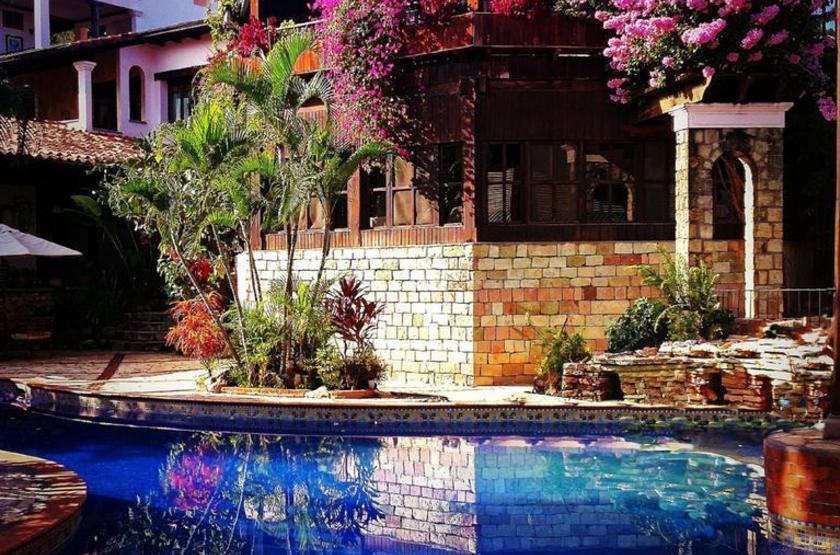 Hotel Marina Copan, Ruinas, Honduras, piscine