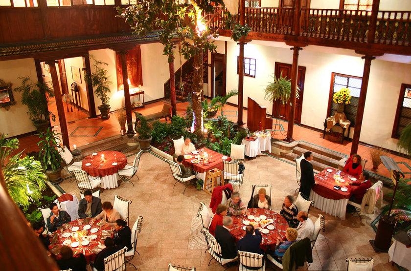 Santa Lucia Hotel Cuenca, Equateur, restaurant