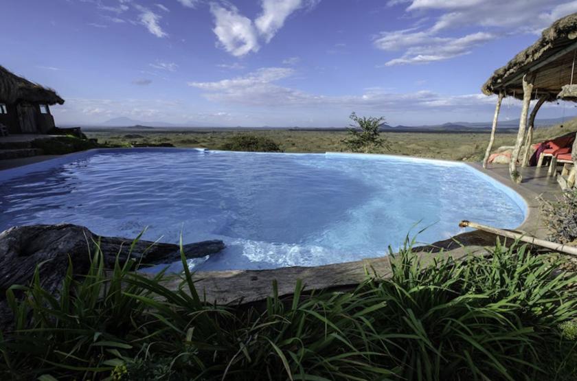 Tanzanie - Maasai Lodge - piscine
