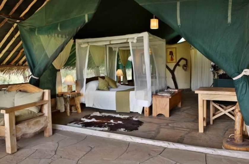 Kibo Safari Camp, Amboseli, Kenya, intérieur tente