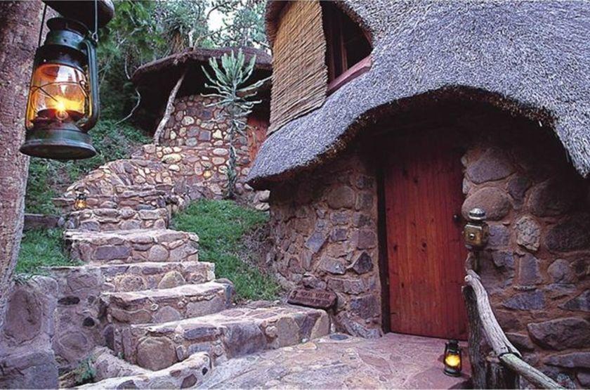 Simunye Zulu Lodge, KwaZulu Natal, Afrique du Sud, chalet