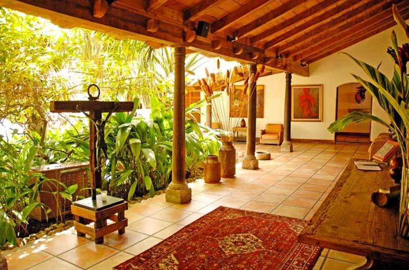 Los Almendros de San Lorenzo, Suchitoto, Salvador, terrasse