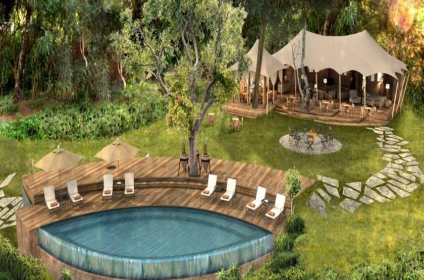 &Beyond Bateleur Camp, Masai Mara, Kenya, piscine