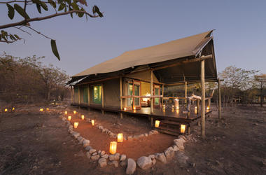 Ongava tented camp tente listing