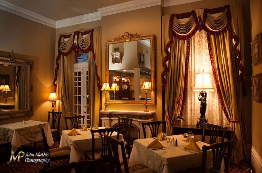 The Guest House, Natchez, Etats Unis, restaurant