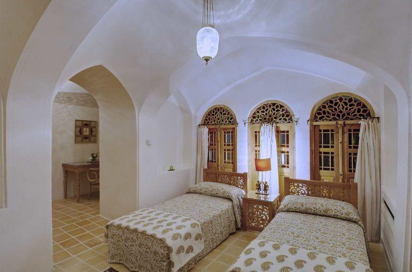 Manouchehri House, Kashan, Iran, chambre