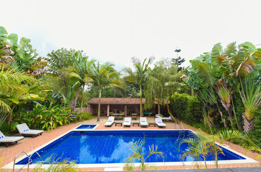 Boma Guest House, Ouganda, piscine