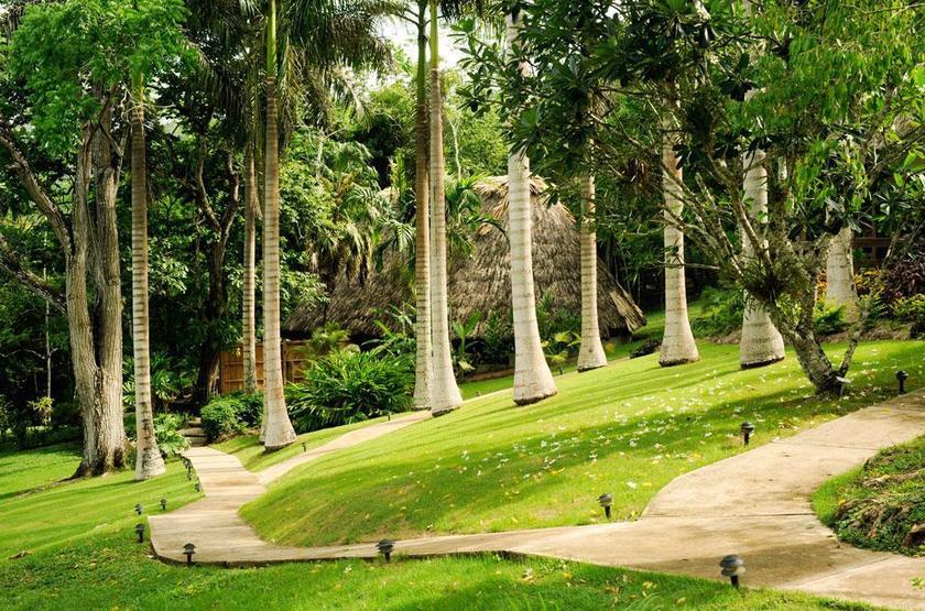 Chaa Creek Lodge, San Ignacio, Belize, jardin