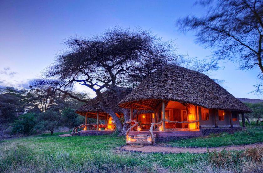 Elewana Tortilis Camp, Amboseli, Kenya, extérieur tente