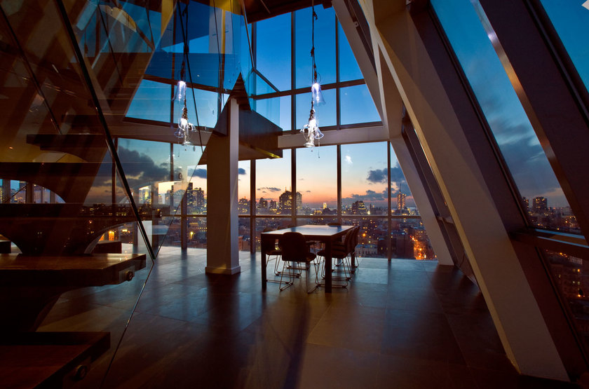On Rivington New York, Etats Unis, penthouse