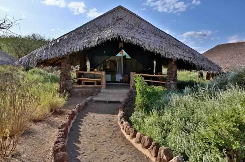 Kibo Safari Camp, Amboseli, Kenya, tente