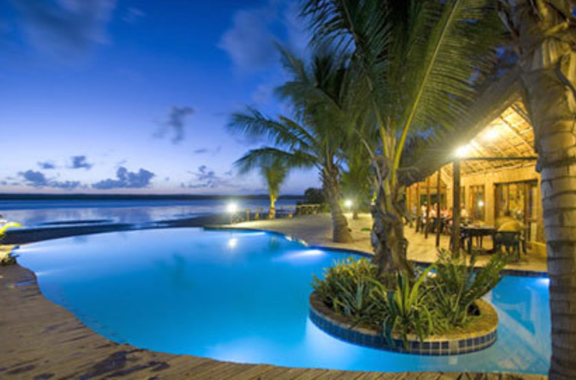 Barra lodge, Inhambane, Mozambique, piscine