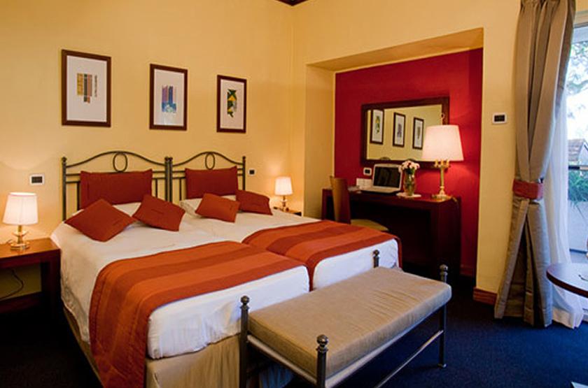 Lake Victoria Hotel, Entebbe, Ouganda, chambre