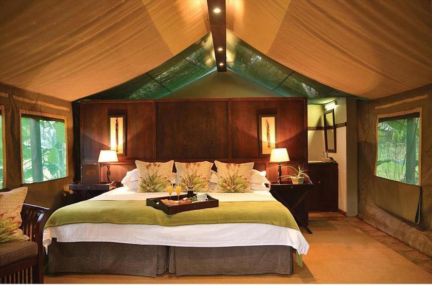 Falaza Game Lodge, Afrique du Sud, chambre