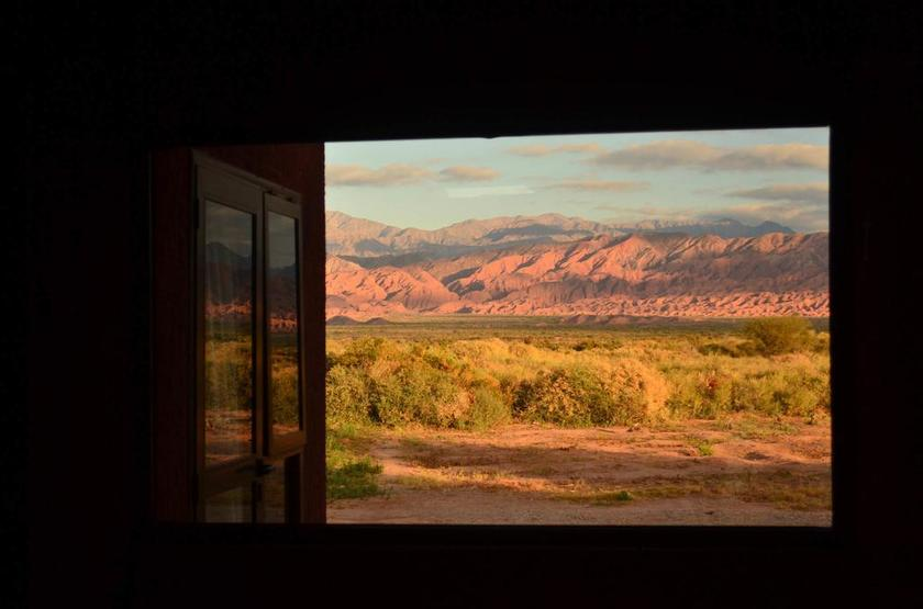 Argentine - Talampaya - Vue de la chambre